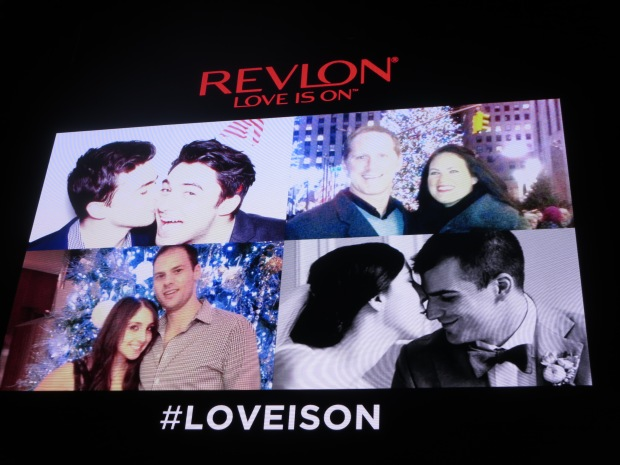 Revlon Digital Ad for Love is On Campaign