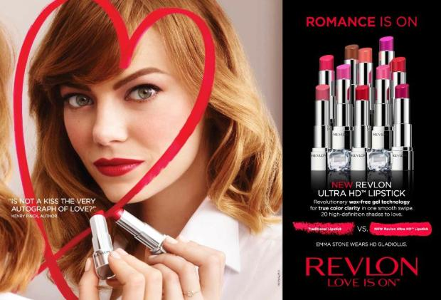 Revlon Love Is On Print Ad
