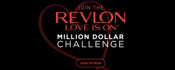 Revlon's crowdfunding contest on its website for campaign LOVE IS ON