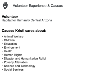 kh-linkedin-volunteer-section